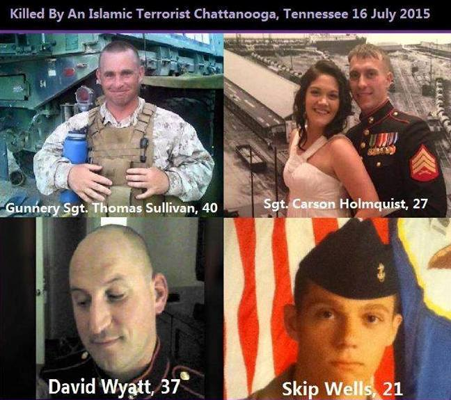 Marines killed in Tenn.