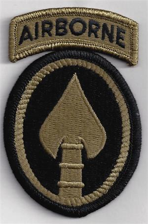 The US Army SOCOM Patch