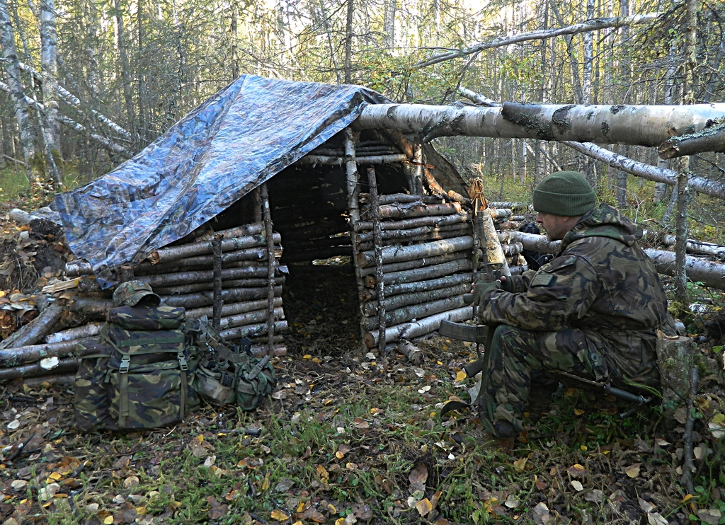 """Bug Out Survival Shelter : Preconceived notions """"the bugout mason dixon tactical"""