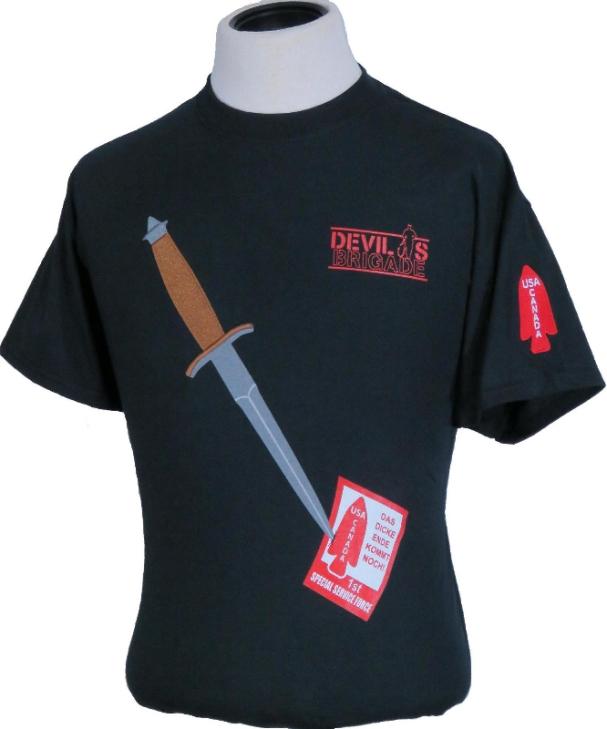 Devils Brigade post DB tshirt