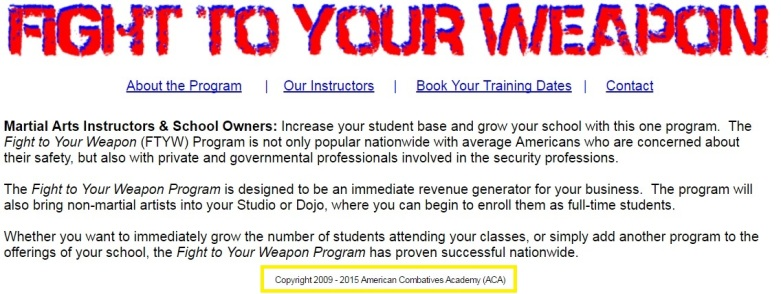Kerodin's American Combatives Academy2