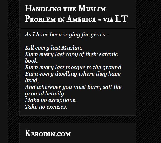 Kerodin's Muslims