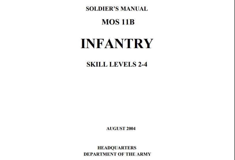 Infantry common tasks level 2-1