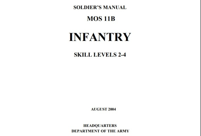 Infantry common tasks level 2-1