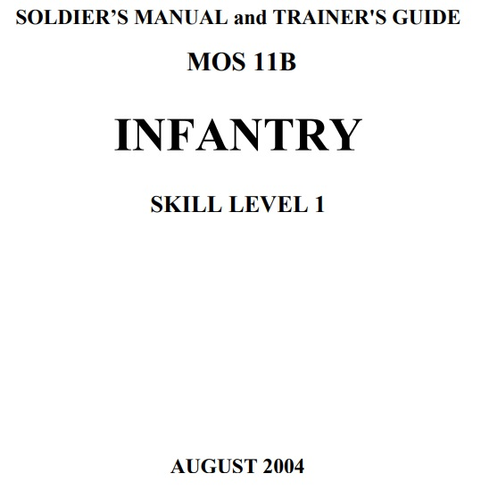 Infantry common tasks0