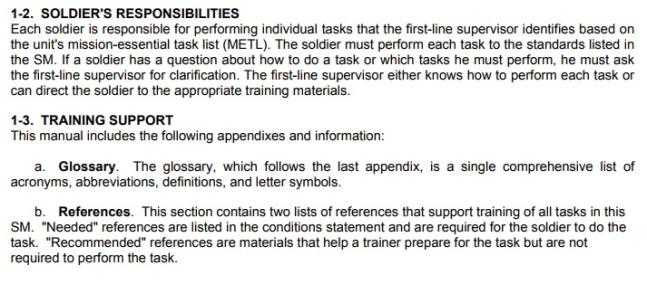 Infantry common tasks2