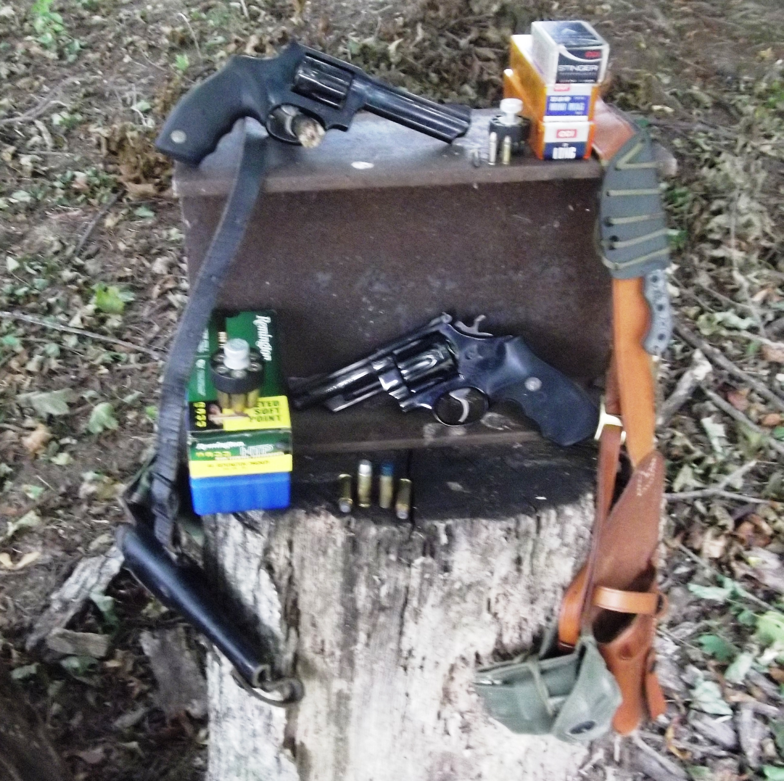 Firearms for Freedom and Forage, Hunting Handguns03-1