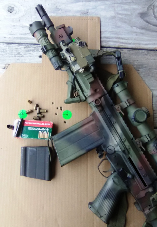 """""""Adapting To Survive"""": Firearms-Part 1, The .308 Winchester to .32ACP CartridgeAdapter"""