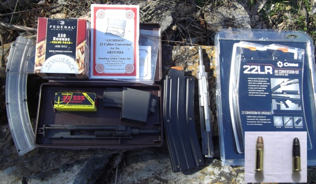 """""""Adapting To Survive"""": Firearms-Part 2, The AR-15 to .22LR ConversionKit"""